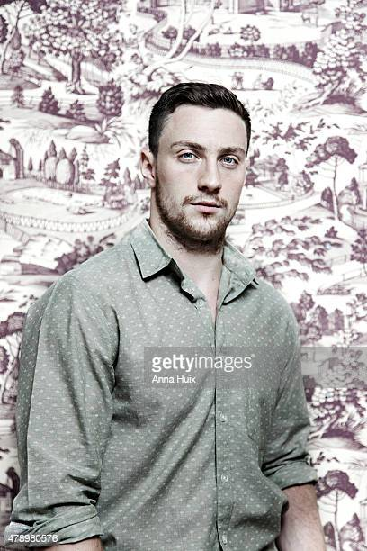 Actor Aaron TaylorJohnson is photographed for the Independent on July 30 2013 in London England