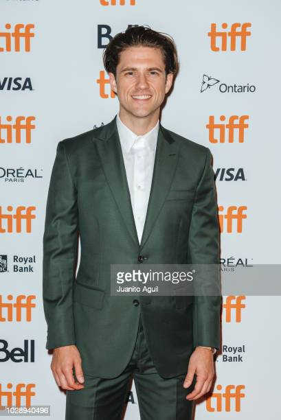 Actor Aaron Tveit attends the 'Out Of Blue' premiere during the 2018 Toronto International Film Festival at Winter Garden Theatre on September 7 2018...