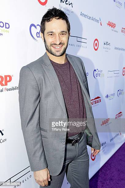 Actor Aaron Wolf attends HollyRod Foundation's DesignCare Gala on July 16 2016 in Pacific Palisades California