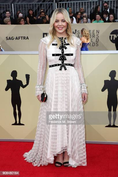 Actor Abbie Cornish attends the 24th Annual Screen Actors Guild Awards at The Shrine Auditorium on January 21 2018 in Los Angeles California 27522_017