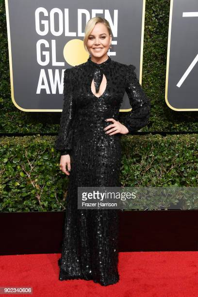 Actor Abbie Cornish attends The 75th Annual Golden Globe Awards at The Beverly Hilton Hotel on January 7 2018 in Beverly Hills California