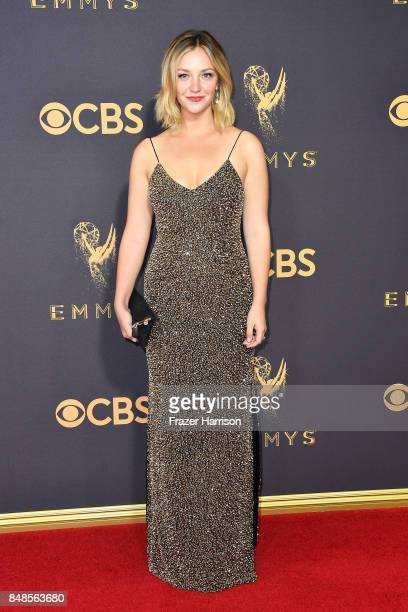 Actor Abby Elliott attends the 69th Annual Primetime Emmy Awards at Microsoft Theater on September 17 2017 in Los Angeles California