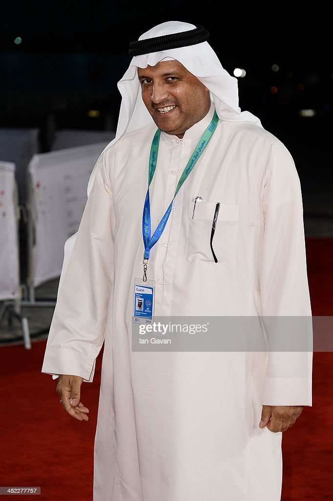 Actor Abdelnasser Al Zayer attends the 'On the Way to School' Premiere during day 2 of Ajyal Youth Film Festival on November 27, 2013 in Doha, Qatar.