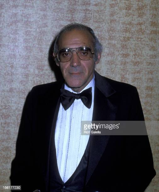 Actor Abe Vigoda attends Academy of Television Arts and Sciences Gala Honoring Sid Caesar on March 31 1979 at the Century Plaza Hotel in Century City...