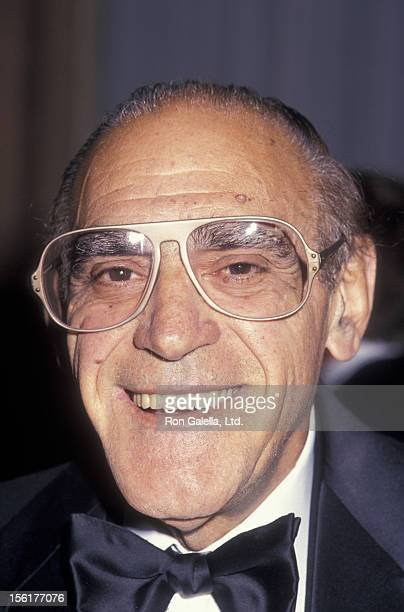 Actor Abe Vigoda attends National Actors Theater Dinner Gala on October 4 1994 at the Pierre Hotel in New York City
