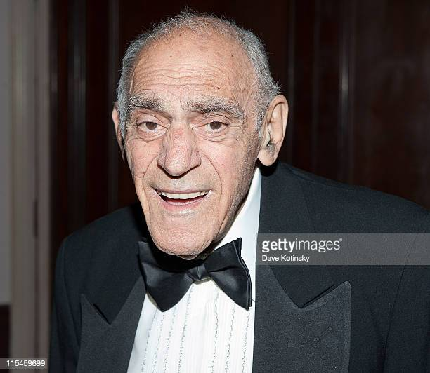 Actor Abe Vigoda attends the 2011 Friars Foundation Applause Award Gala at The Waldorf=Astoria on June 6 2011 in New York City