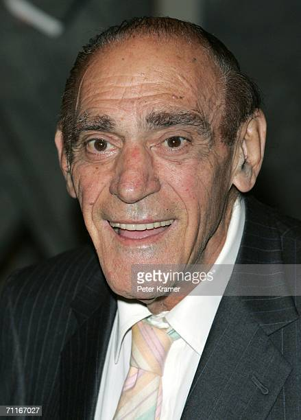 Actor Abe Vigoda attends the Friars Club roasting of Jerry Lewis at the New York Hilton on June 9 2006 in New York City