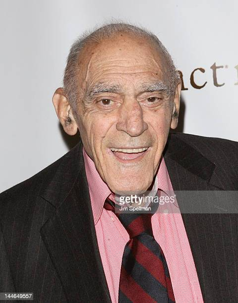 Actor Abe Vigoda attends The Friars Club Salute To Betty White at Sheraton New York Hotel Towers on May 16 2012 in New York City