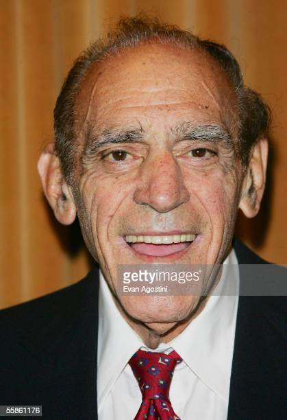 Actor Abe Vigoda attends The Motion Pictures Club's 65th Annual Awards Installation Luncheon at the Marriott Marquis Hotel October 06 2005 in New...