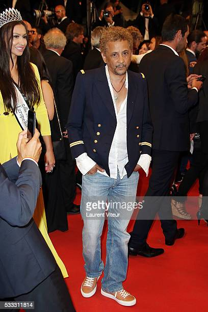 Actor Abel Jafri attends a screening of 'The Salesman ' at the annual 69th Cannes Film Festival at Palais des Festivals on May 21 2016 in Cannes...