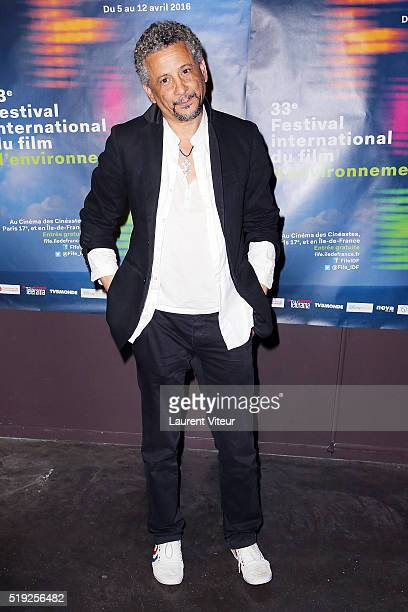 Actor Abel Jafri attends the 33rd Festival International Du Film D'Environement at Le Cinema des Cineastes on April 5 2016 in Paris France