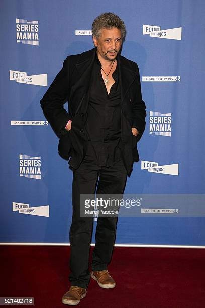 Actor Abel Jafri attends the '7th Series Mania Festival' opening ceremony at Le Grand Rex on April 15 2016 in Paris France