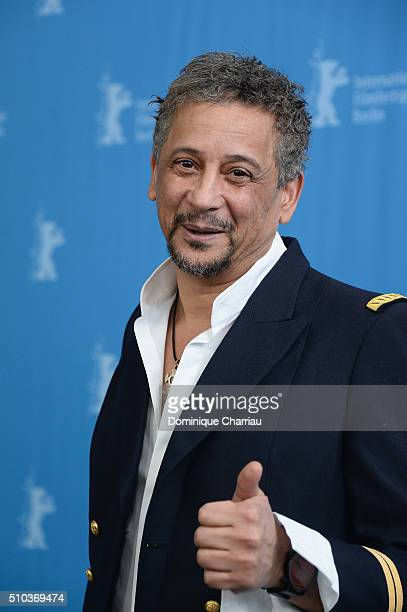 Actor Abel Jafri attends the 'Road to Istanbul' photo call during the 66th Berlinale International Film Festival Berlin at Grand Hyatt Hotel on...