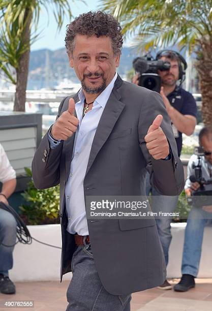 Actor Abel Jafri attends the 'Timbuktu' photocall at the 67th Annual Cannes Film Festival on May 15 2014 in Cannes France