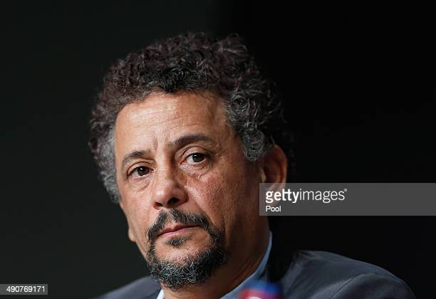Actor Abel Jafri attends the 'Timbuktu' press conference at the 67th Annual Cannes Film Festival on May 15 2014 in Cannes France