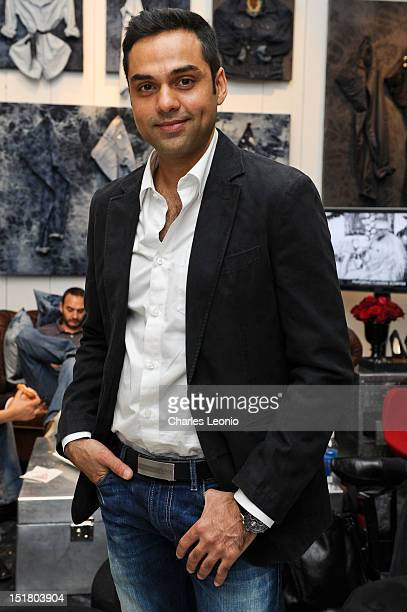 Actor Abhay Deol attends the Guess Portrait Studio during 2012 Toronto International Film Festivalat at the Bell Lightbox on September 11 2012 in...