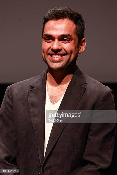 Actor Abhay Deol speaks at 'Shanghi' premiere during the 2012 Toronto International Film Festival at TIFF Bell Lightbox on September 7 2012 in...