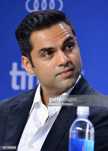 Actor Abhay Deol speaks onstage at the 'City To City' Press Conference during the 2012 Toronto International Film Festival at TIFF Bell Lightbox on...