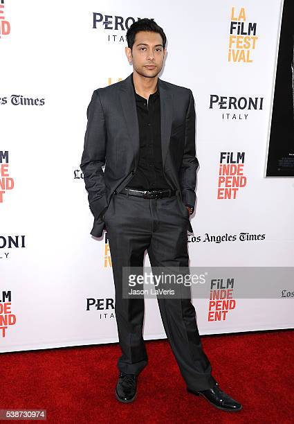 Actor Abhi Sinha attends the premiere of The Conjuring 2 at the 2016 Los Angeles Film Festival at TCL Chinese Theatre IMAX on June 7 2016 in...