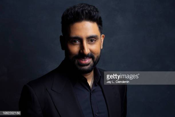 Actor Abhishek Bachchan from 'Husband Material' is photographed for Los Angeles Times on September 11 2018 in Toronto Ontario PUBLISHED IMAGE CREDIT...