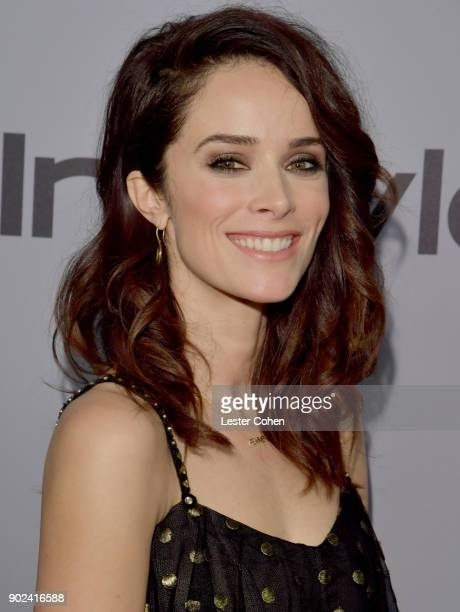 Actor Abigail Spencer attends 19th Annual PostGolden Globes Party hosted by Warner Bros Pictures and InStyle at The Beverly Hilton Hotel on January 7...