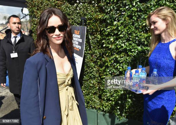 Actor Abigail Spencer with FIJI Water during the 33rd Annual Film Independent Spirit Awards on March 3, 2018 in Santa Monica, California.