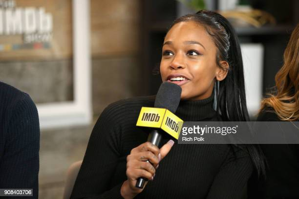 Actor Abra of 'Assassination Nation' attends The IMDb Studio and The IMDb Show on Location at The Sundance Film Festival on January 21 2018 in Park...