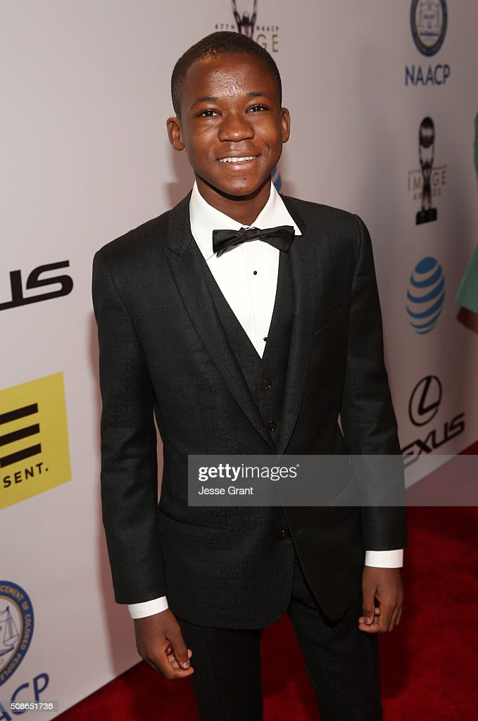 Actor Abraham Attah attends the 47th NAACP Image Awards presented by TV One at Pasadena Civic Auditorium on February 5, 2016 in Pasadena, California.