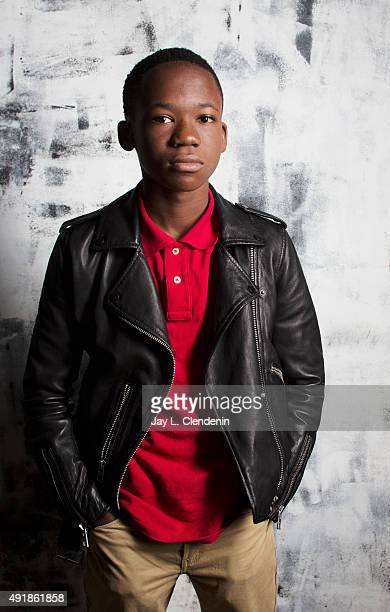 Actor Abraham Attah of the film Beasts of No Nation is photographed for Los Angeles Times on September 25 2015 in Toronto Ontario PUBLISHED IMAGE...