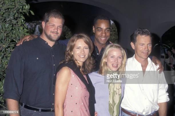 Actor Abraham Benrubi actor Jeffrey D Sams actor Bruce Greenwood actress Kathrin Nicholson and actress Naomi Watts attend the NBC Summer TCA Press...