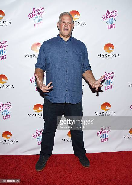 Actor Abraham Benrubi arrives at the premiere of Marvista Entertainment's 'Jessica Darling's It List' at the Landmark Theater on June 20 2016 in Los...