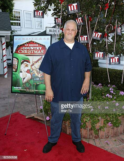 Actor Abraham Benrubi attends 'A Country Christmas' Los Angeles Special Screening at The DeMille Theatre on September 29 2013 in Culver City...