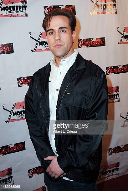 Actor Ace Jordan attends the ShockFest Film Festival Awards held at Raleigh Studios on January 11 2014 in Los Angeles California