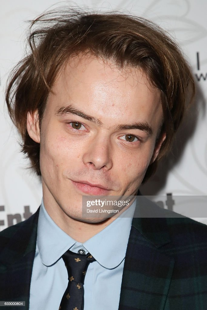 Actor Actor Charlie Heaton arrives at the Entertainment Weekly celebration honoring nominees for The Screen Actors Guild Awards at the Chateau Marmont on January 28, 2017 in Los Angeles, California.