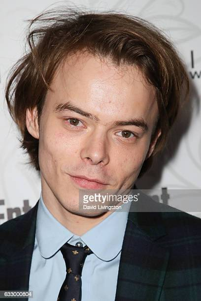 Actor Actor Charlie Heaton arrives at the Entertainment Weekly celebration honoring nominees for The Screen Actors Guild Awards at the Chateau...