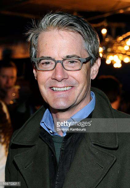 Actor Actor Kyle MacLachlan attends Day 1 of Village at The Lift 2013 on January 18 2013 in Park City Utah
