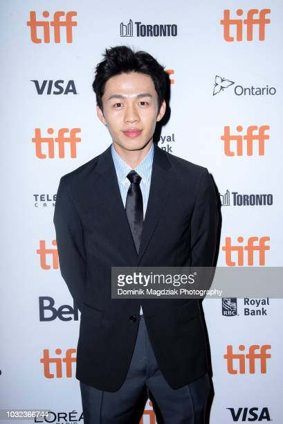 Actor Actor Lee Hongchi attends the Baby red carpet premiere during the 2018 Toronto International Film Festival at Ryerson Theatre on September 12...