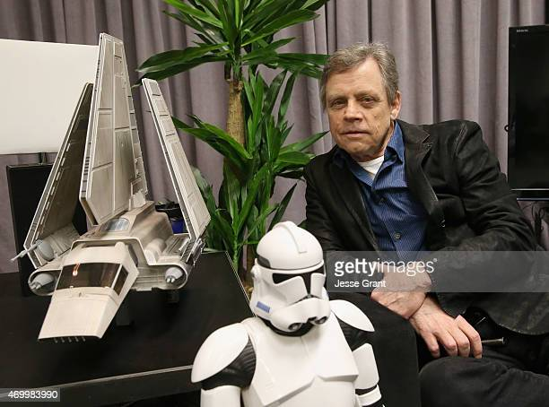Actor Actor Mark Hamill attends Star Wars Celebration 2015 on April 16 2015 in Anaheim California