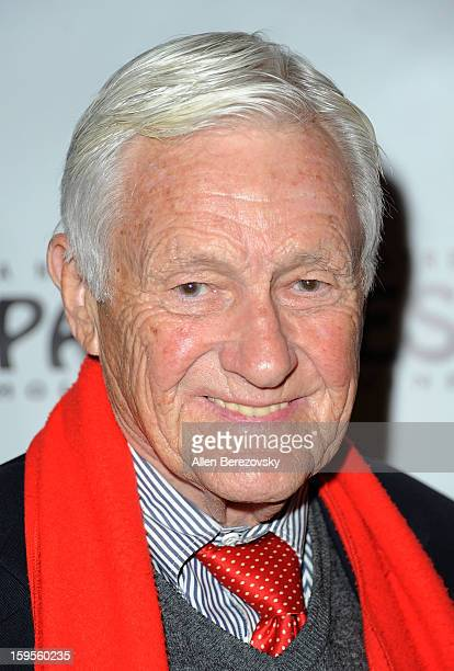 Actor Actor Orson Bean arrives at the Los Angeles opening night performance of Peter Pan at the Pantages Theatre on January 15 2013 in Hollywood...