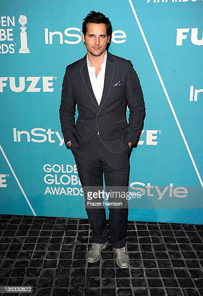 Actor Actors Peter Facinelli arrives at The Hollywood Foreign Press Association and InStyle Presents 'A Night Of Firsts' at Cecconi's Restaurant on...