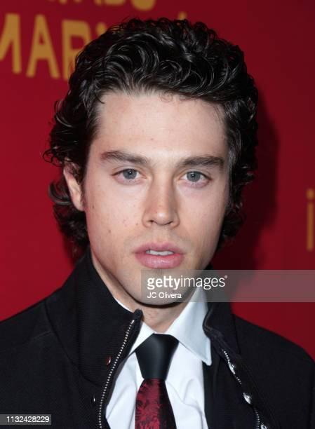Actor Adam Allende attends 'HE MATADO A MI MARIDO' Los Angeles Premiere at Harmony Gold Theatre on February 26 2019 in Los Angeles California