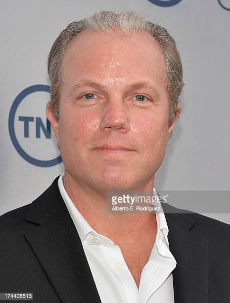 Actor Adam Baldwin arrives to TNT's 25th Anniversary Party at The Beverly Hilton Hotel on July 24 2013 in Beverly Hills California