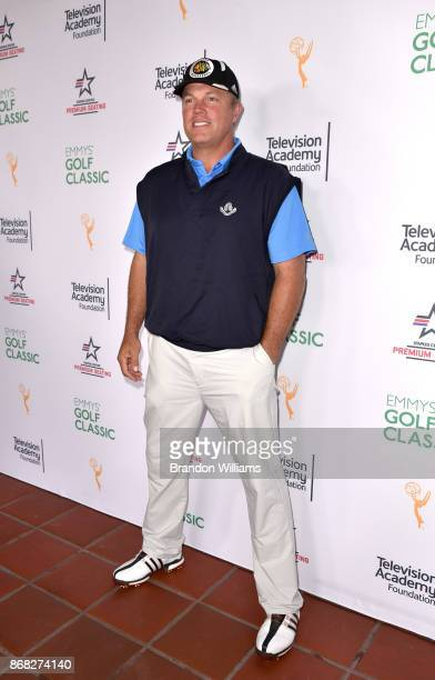 Actor Adam Baldwin attends the 18th Annual Emmys Golf Classic at Wilshire Country Club on October 30 2017 in Los Angeles California