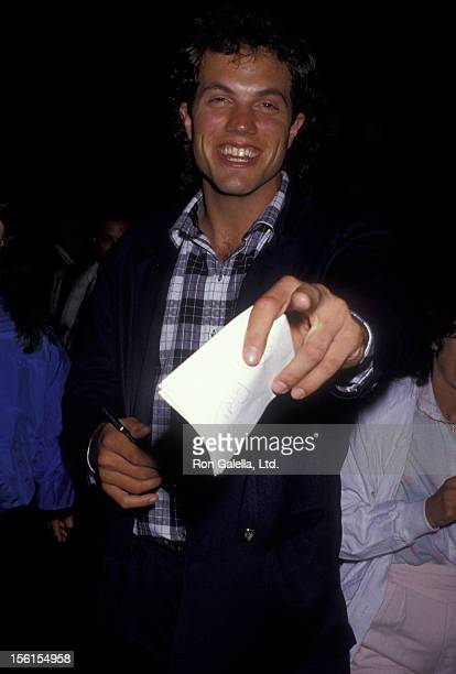 Actor Adam Baldwin attends the premiere of 'Ishtar' on May 13 1987 at the Plitt Theater in Century City California