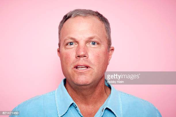 Actor Adam Baldwin from TNT's 'The Last Ship' poses for a portrait during ComicCon 2017 at Hard Rock Hotel San Diego on July 23 2017 in San Diego...