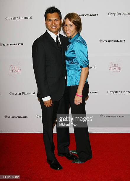 Actor Adam Beach and wife Tara arrives at The Lili Claire Foundation 10th Annual Dinner and Auction at the Hyatt Regency Plaza Hotel on October 13...