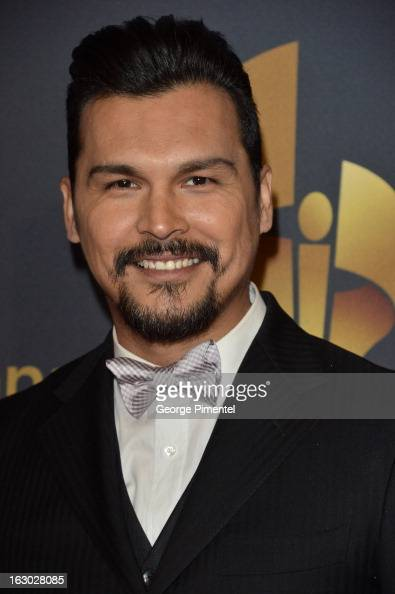Actor Adam Beach Arrives At The Canadian Screen Awards At