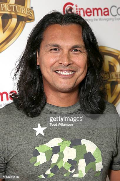 "Actor Adam Beach attends CinemaCon 2016 Warner Bros Pictures Invites You to ""The Big Picture"" an Exclusive Presentation Highlighting the Summer of..."