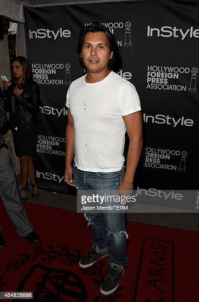 Actor Adam Beach attends HFPA InStyle's 2014 TIFF celebration during the 2014 Toronto International Film Festival at Windsor Arms Hotel on September...