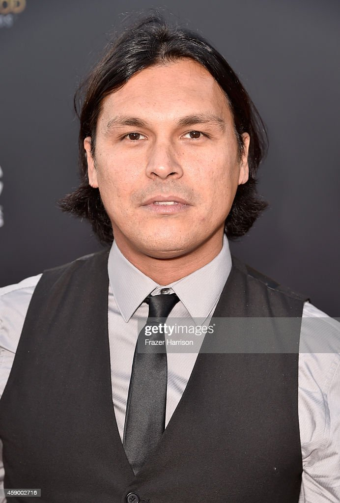 Actor Adam Beach attends the 18th Annual Hollywood Film Awards at The Palladium on November 14, 2014 in Hollywood, California.